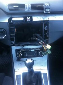 furt radio casetofon passat